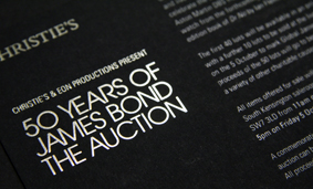 Christie's (50 Years of James Bond Auction)